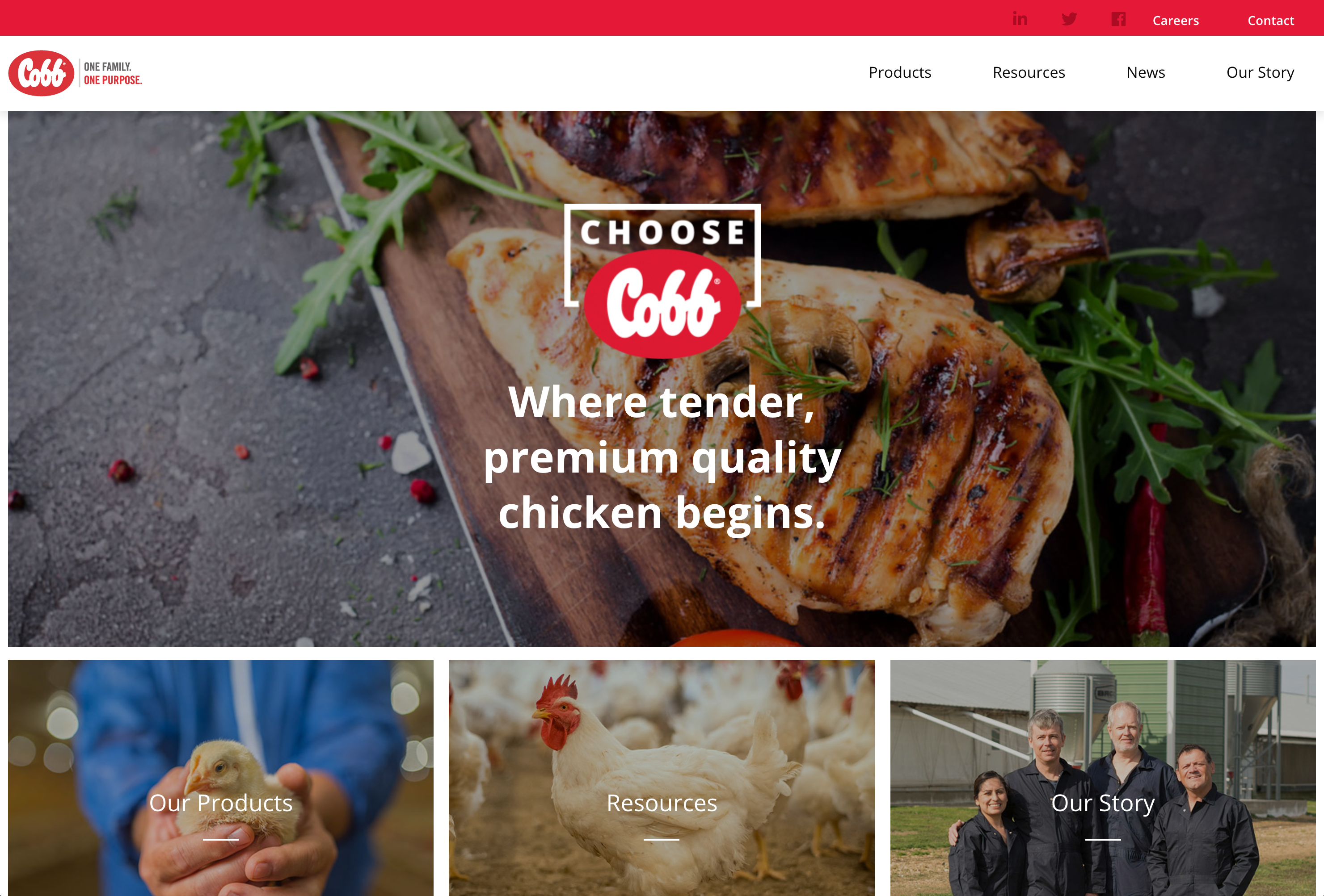 Redesigned Cobb Website