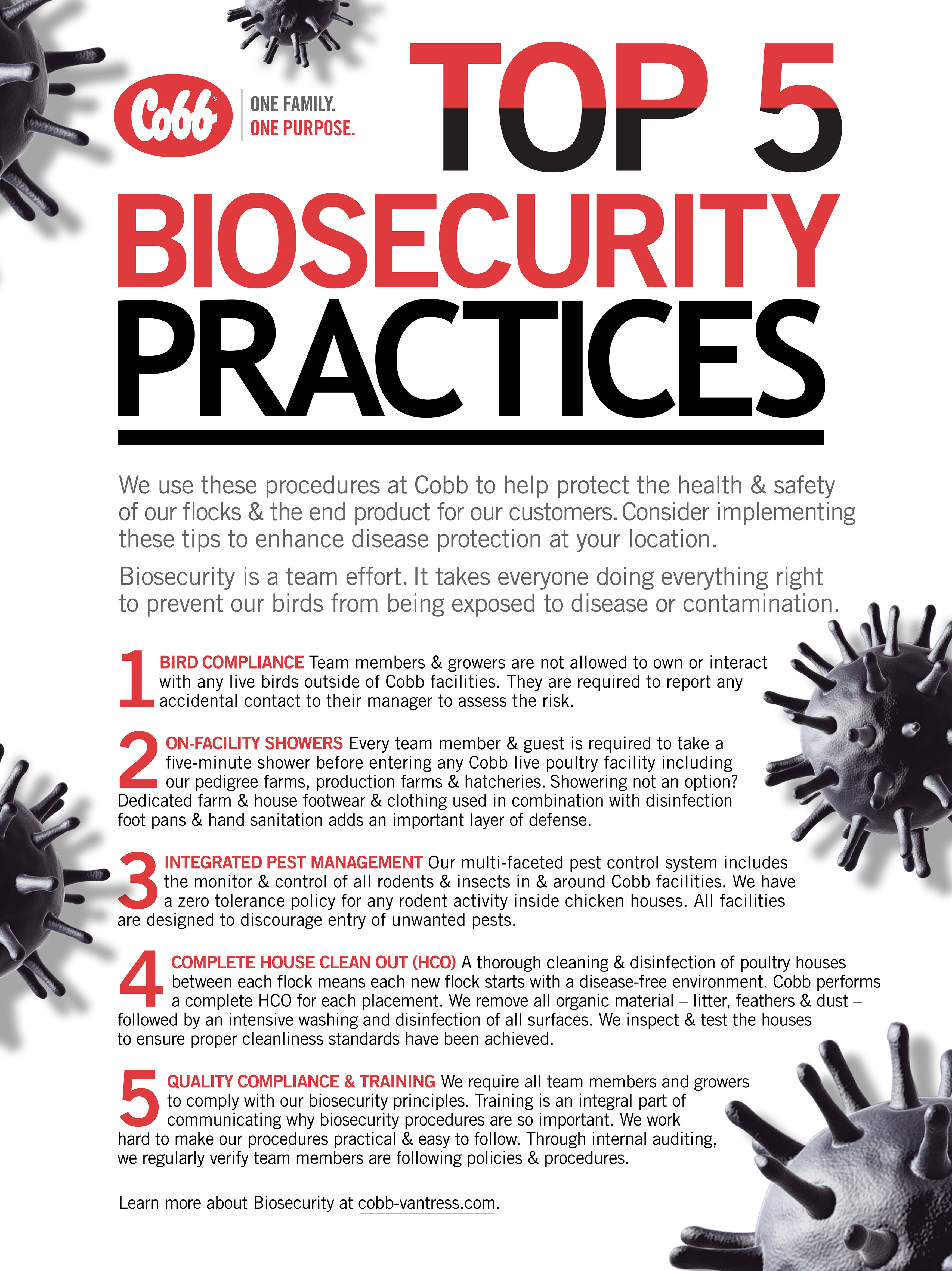 Cobb infographic biosecurity